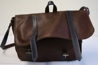 soft bodied handmade satchel