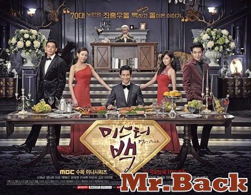 《韓劇 白先生/Mr.Back》重返青春體驗愛情 ~ 申河均、張娜拉