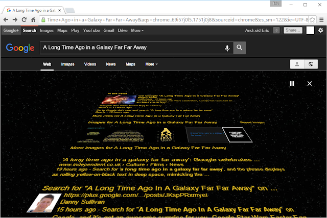 Google Search Easter Egg For Star Wars – A Long Fourth Dimension Agone Inwards A Galaxy Far Far Away