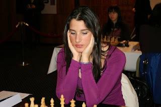 Echecs en Géorgie : la joueuse serbe Andjelija Stojanovic (2326) © Chess-News