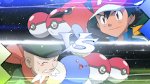 Pokemon XY - Capitulo 58 - ¡Combate en el Gimnasio Témpera!