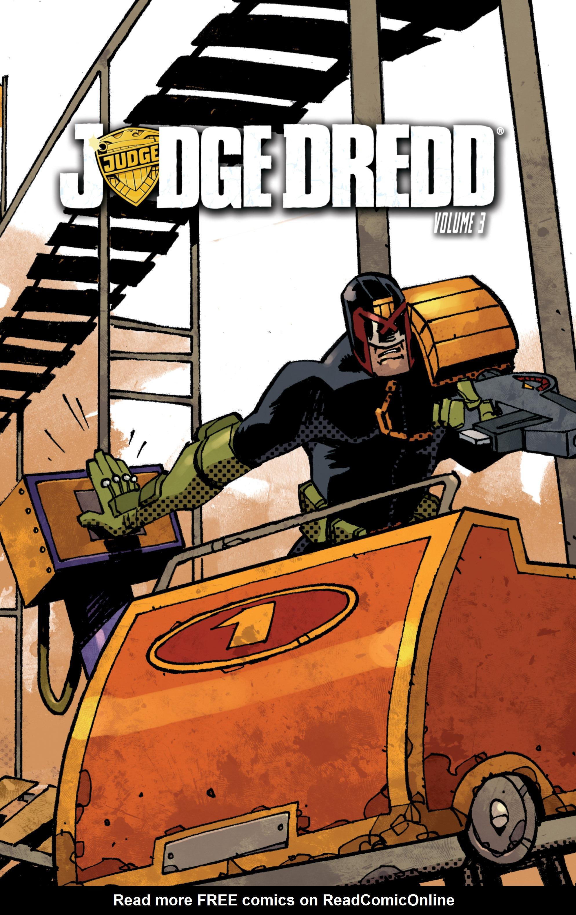 Read online Judge Dredd (2012) comic -  Issue # _TPB 3 - 2