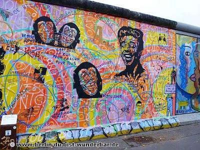 east side gallery, mauer, berlin, kunstler, bemalt, graffiti, austellung, Ostbahnhof, Oberbaumbrücke