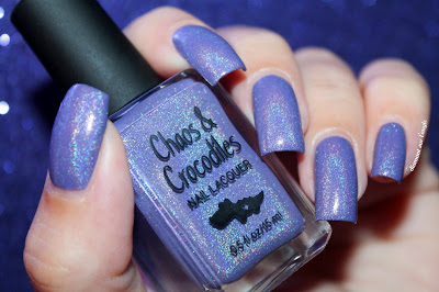"Swatch of the nail polish ""Wishing Star Sky"" from Chaos & Crocodiles"