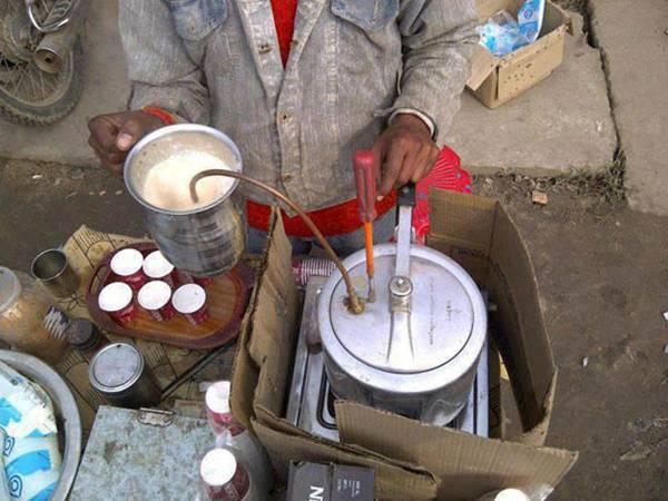 Pressure Cooker Cum Coffee Maker.