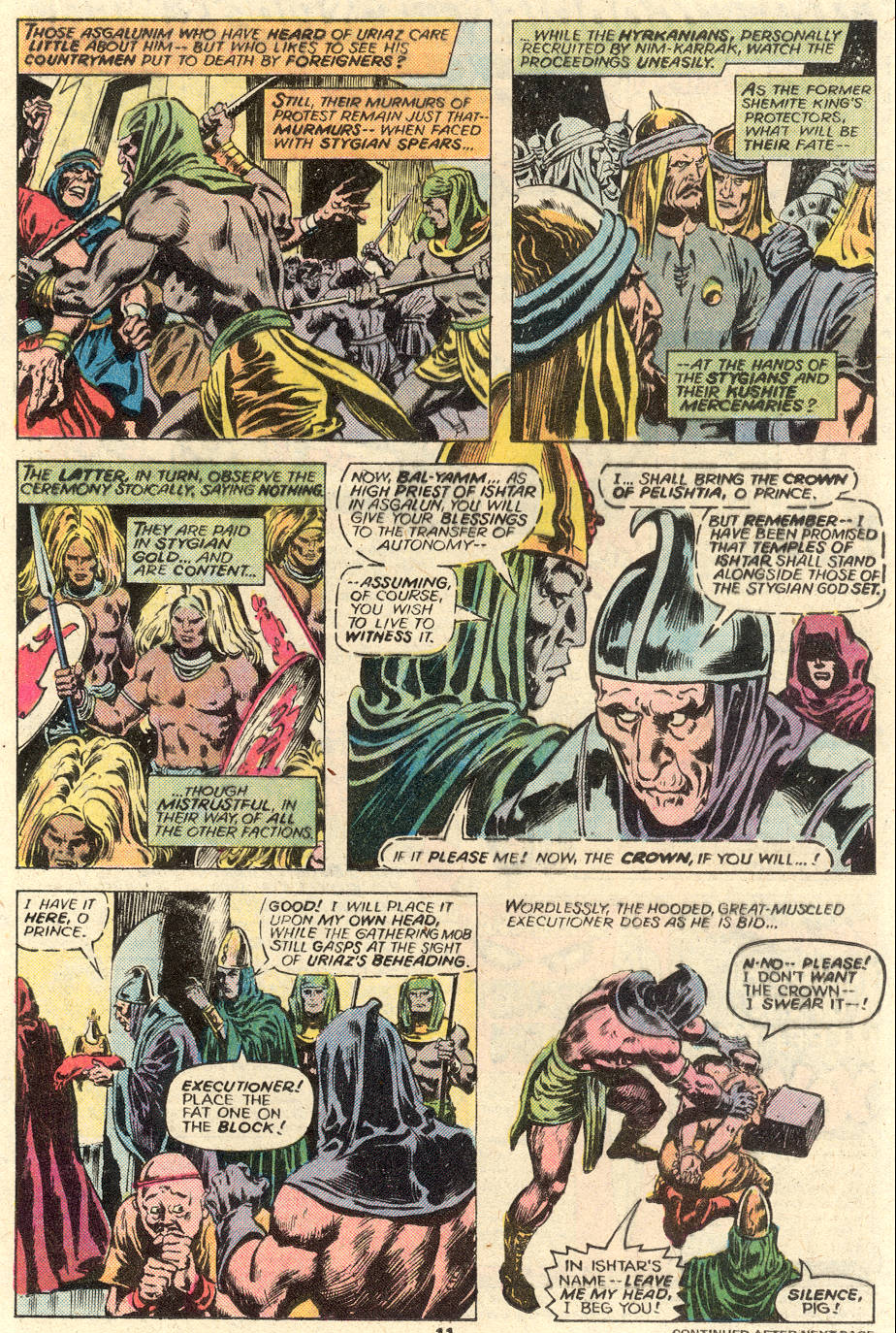Conan the Barbarian (1970) Issue #93 #105 - English 9