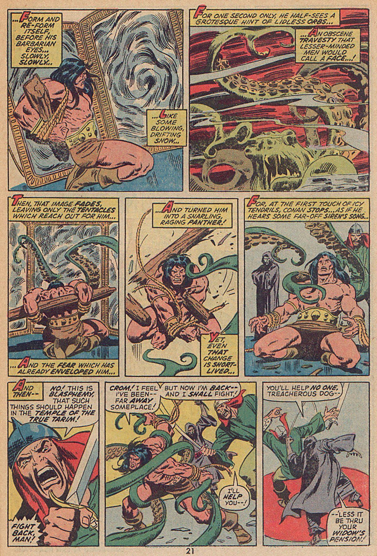 Conan the Barbarian (1970) Issue #25 #37 - English 16