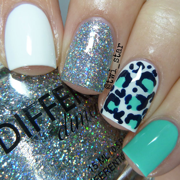 Different Dimension Big Bang Leopard mani