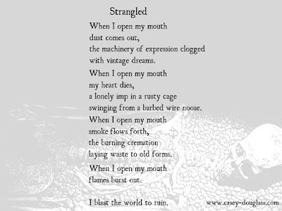 Strangled Poem by Casey Douglass