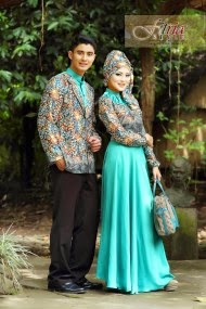 Baju Muslim Couple ModernTerbaru
