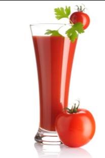 Zumo de tomate para bajar de peso