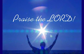 Praise the lord wallpaper man raised hands to God