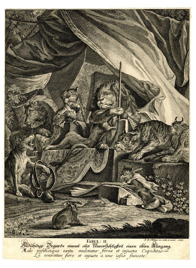 El Hurgador [Arte en la Red]: Johann Elias Ridinger [Grabados]