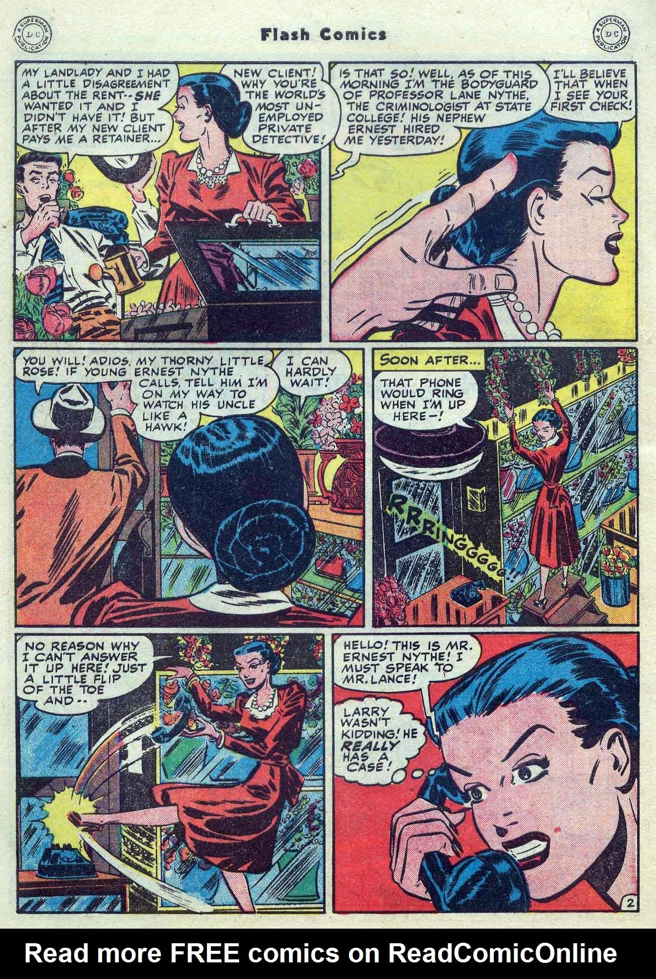 Flash Comics Issue #104 #104 - English 42