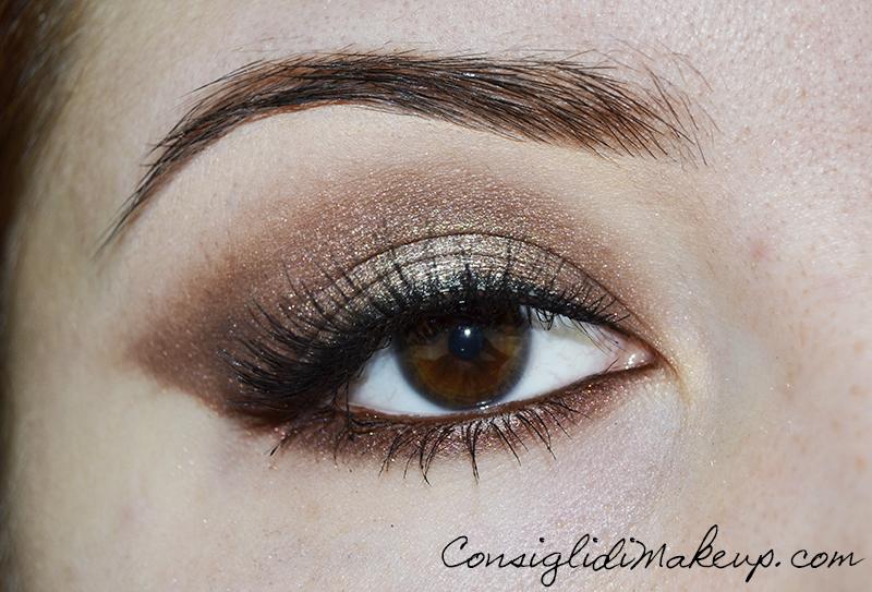 Trucchiamoci per le feste #1 Makeup bronzo luminoso