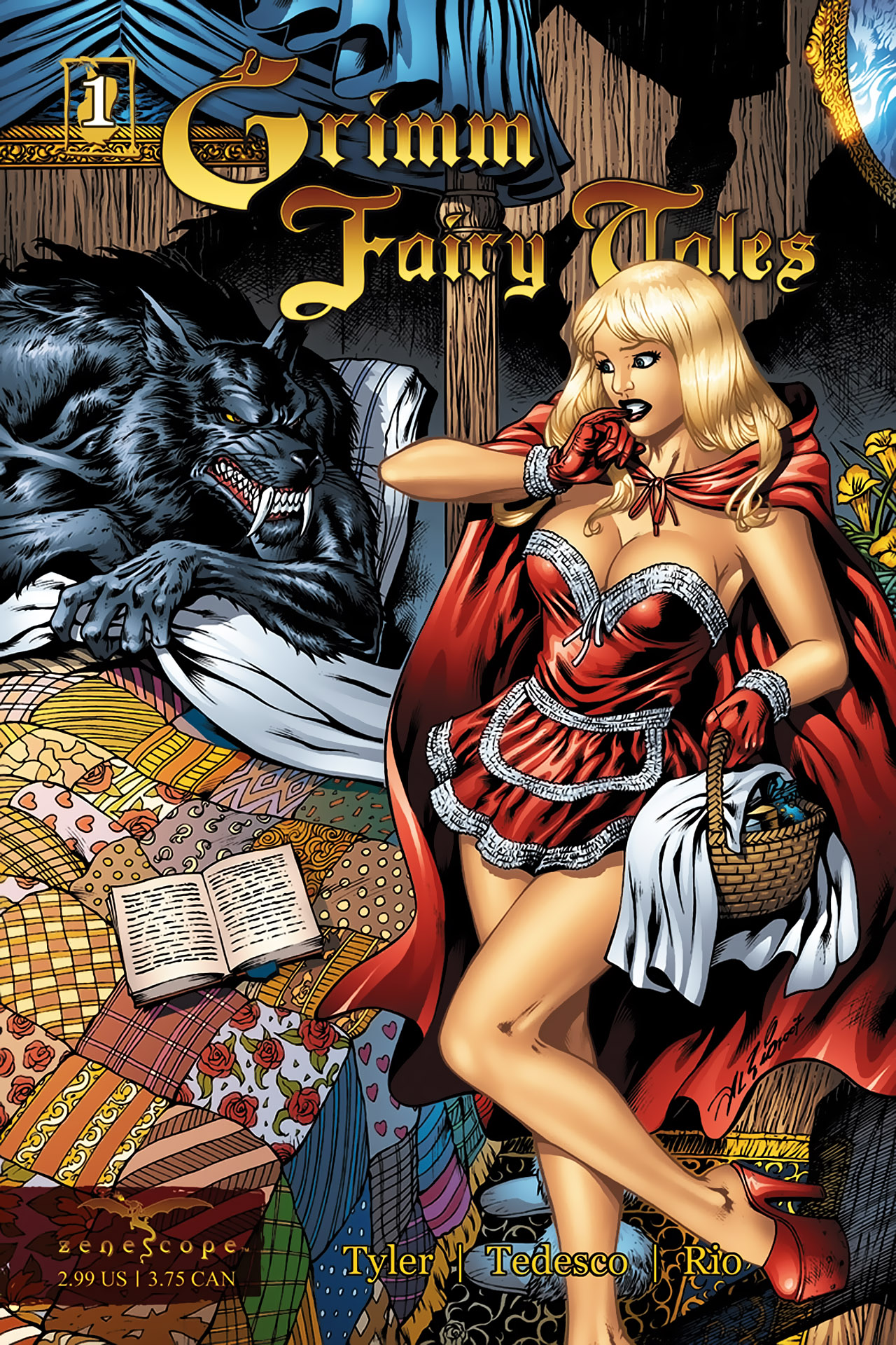 Grimm Fairy Tales (2005) Issue #1 #4 - English 1