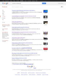google actualités, journées de strasbourg, veille