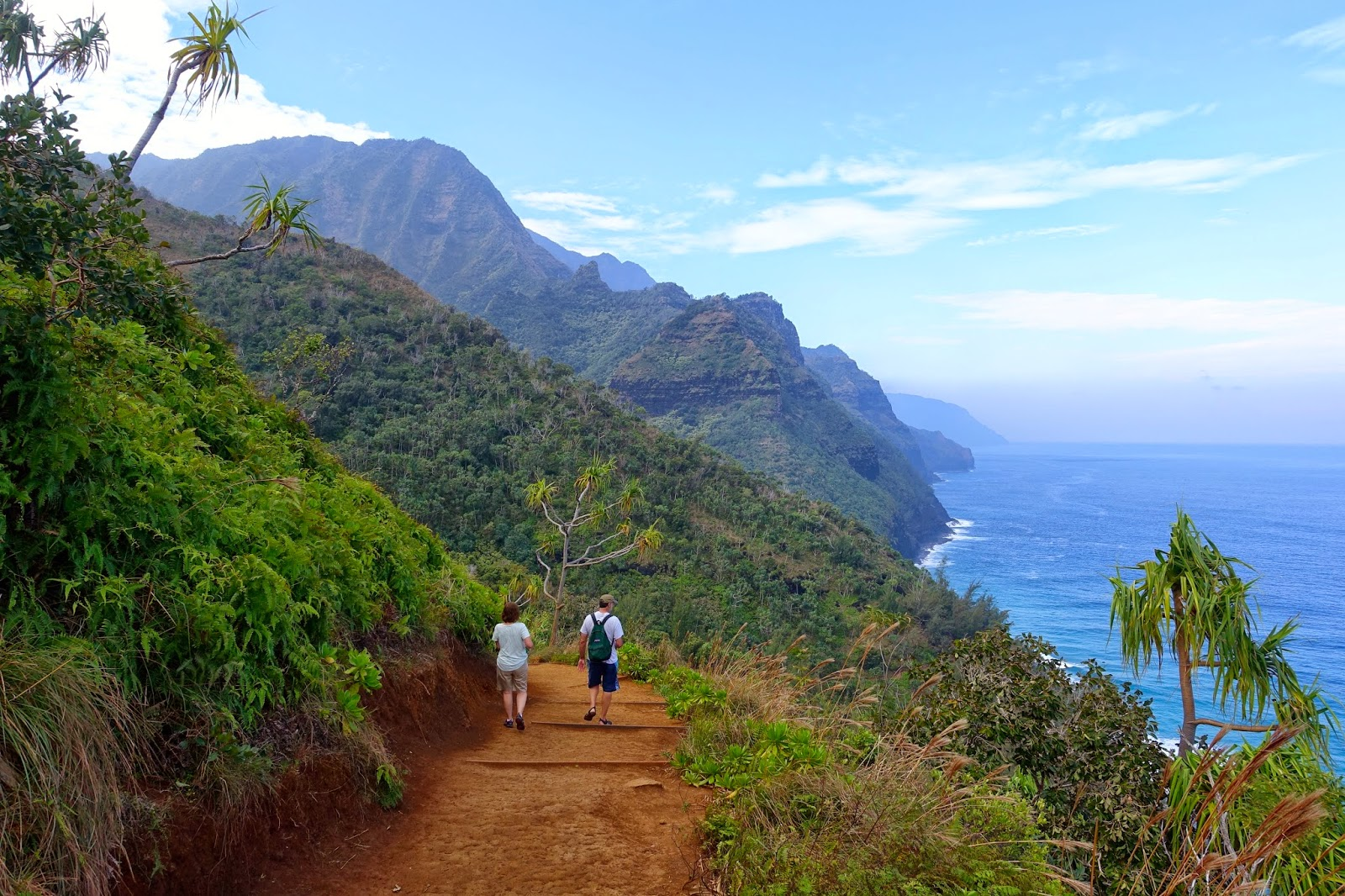 A Trail Runners Blog: The Na Pali Coast in Kauai, Hawaii