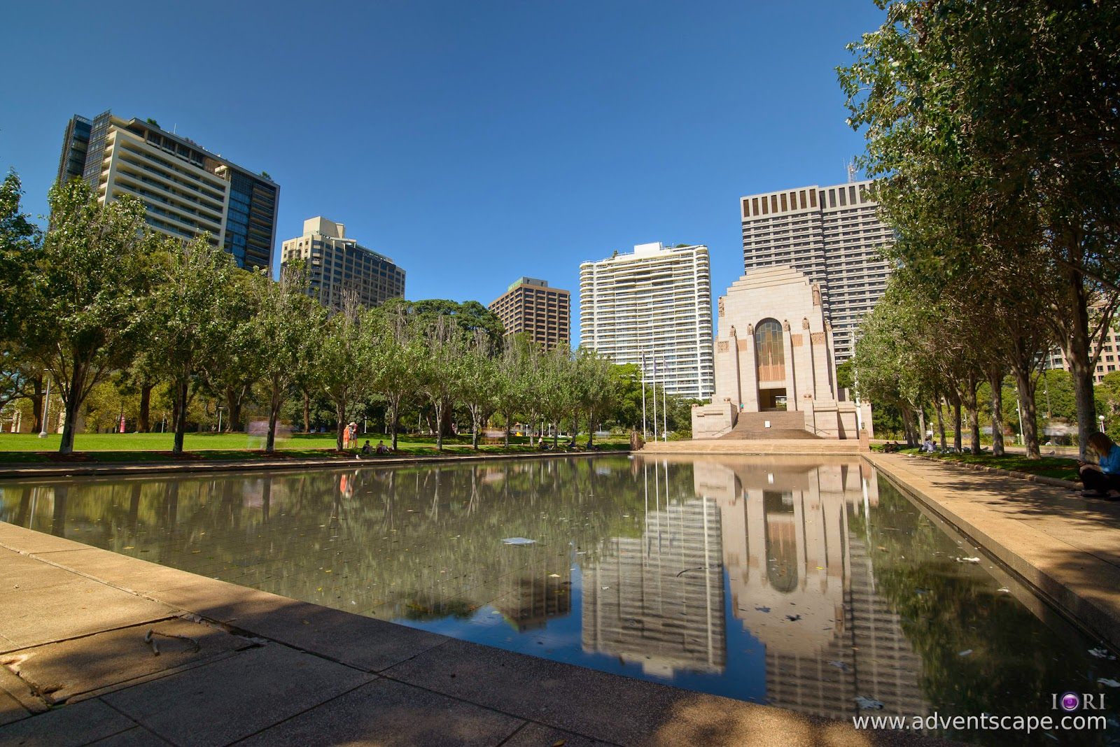 Philip Avellana, Australian Landscape Photographer, NSW, New South Wales, Sydney, Australia, Hyde Park, comparison, review, glass vs resin, filters, Lee Filters, ProGlass, ND, Neutral Density, 1.8, 3 stops,