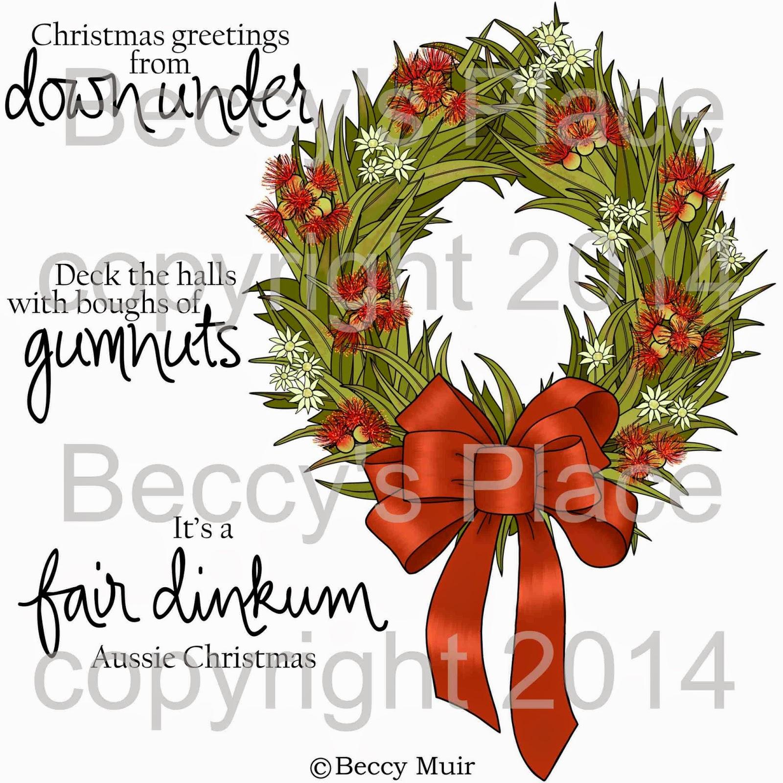 Beccys place new release aussie wreath set aussie wreath set m4hsunfo