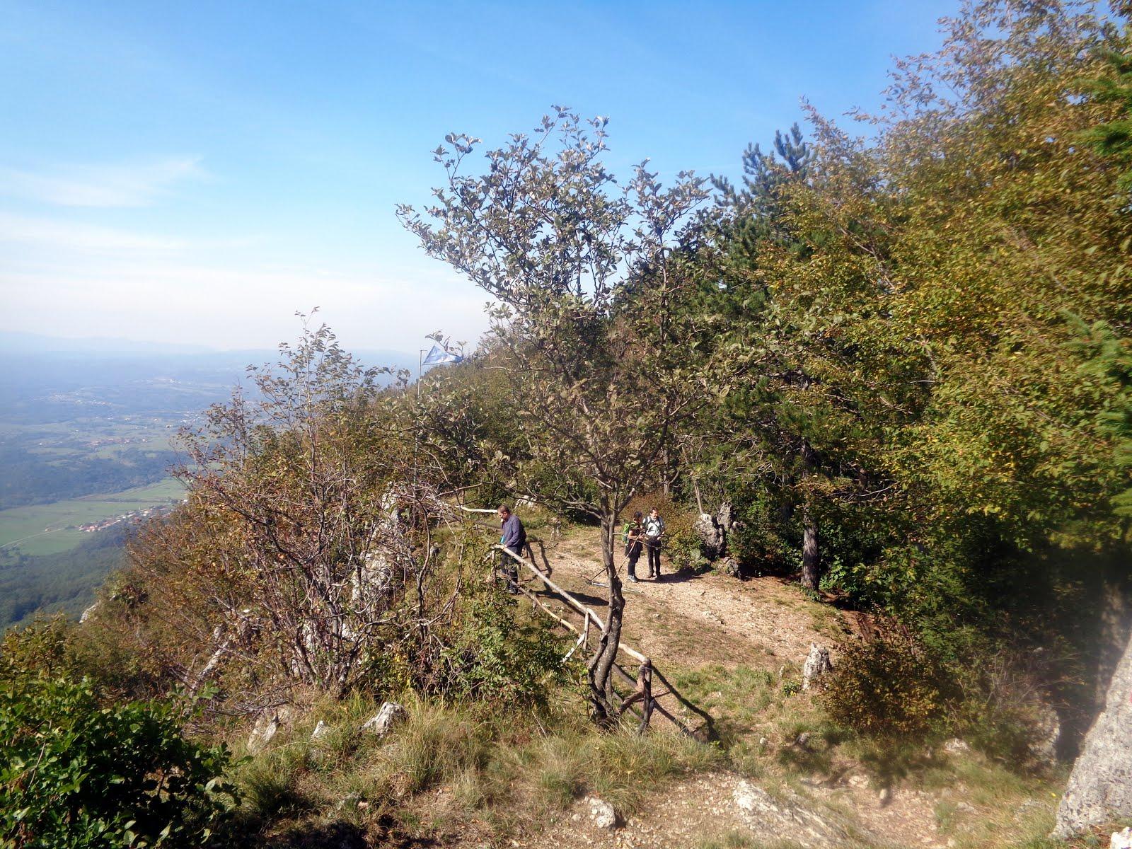 Traversata in 5 tappe della valle del fiume Timavo - Seconda tappa: nei suoi colli settentrionali