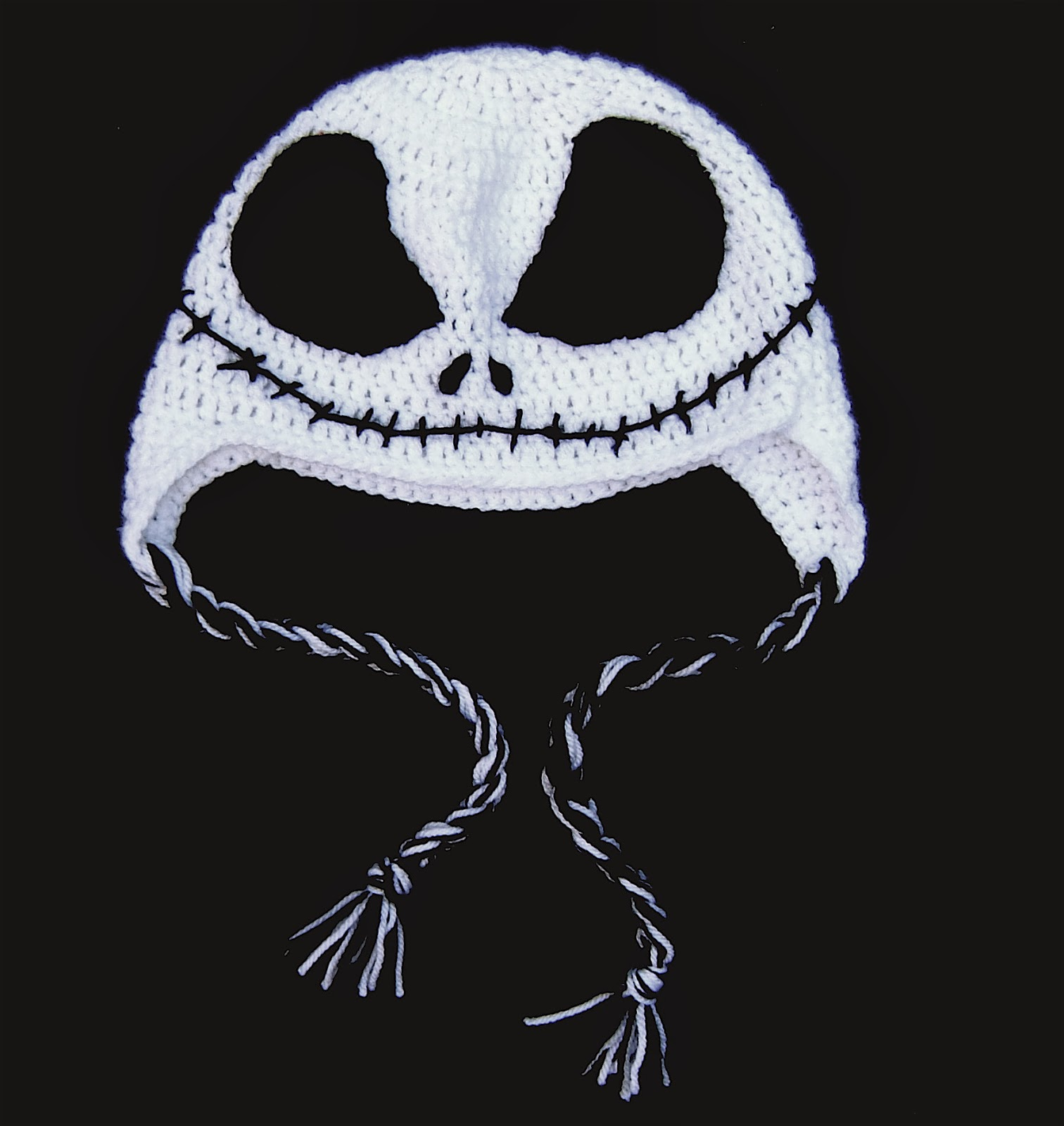 Crochet Pattern For Jack Skellington Hat : Kitschnclocks: September 2013