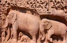 Varaha cave Temple Mahabalipuram India