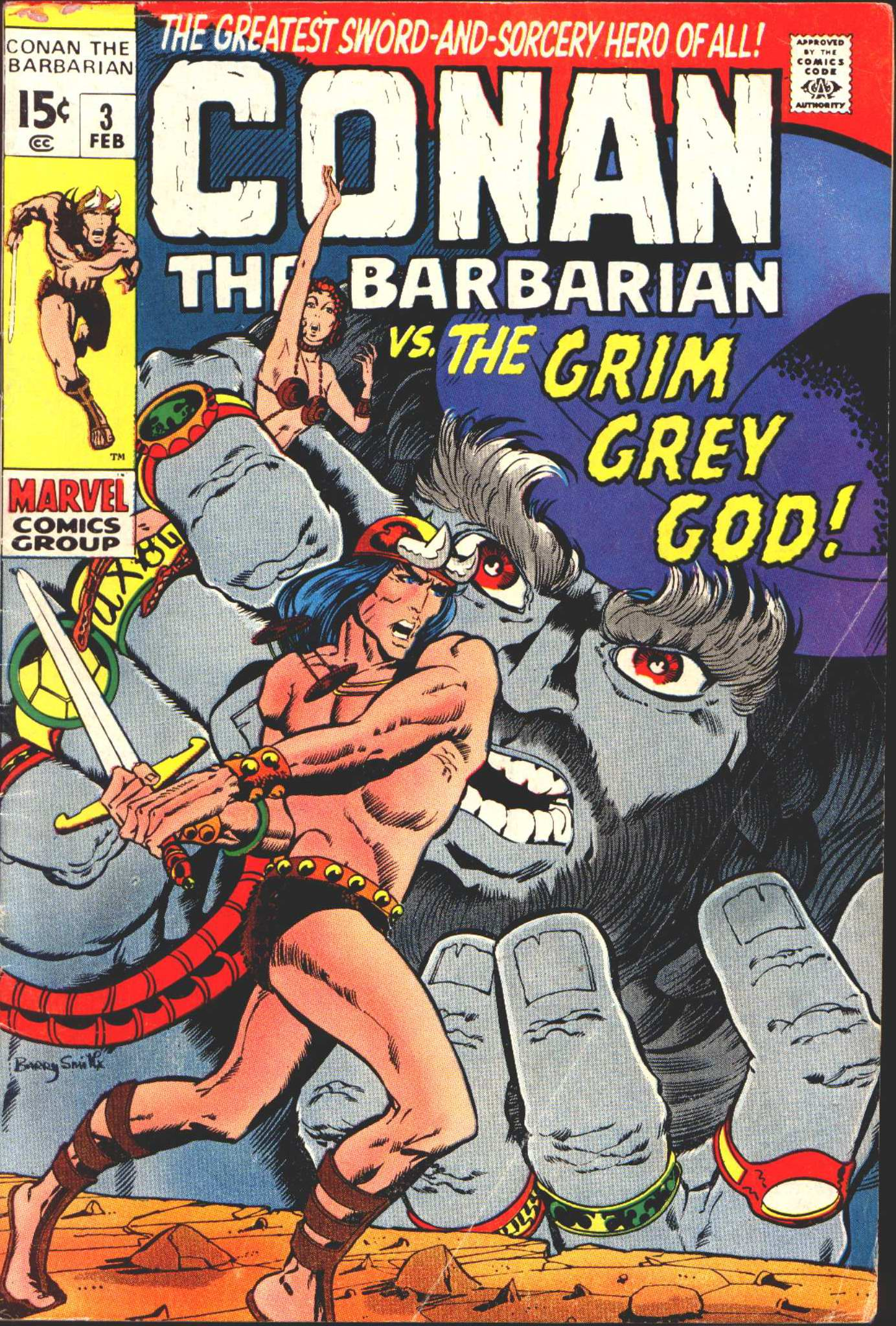 Conan the Barbarian (1970) Issue #3 #15 - English 1