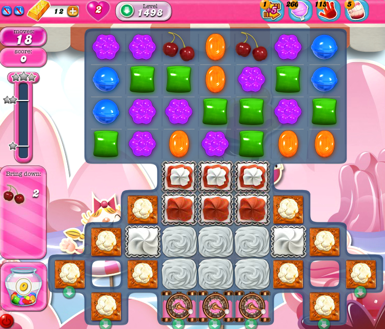 Candy Crush Saga 1498