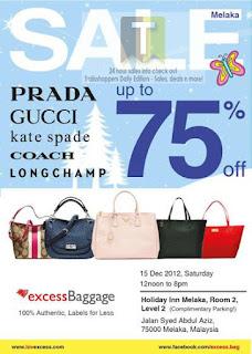 Excess Baggage Luxury Bags Sale 2012