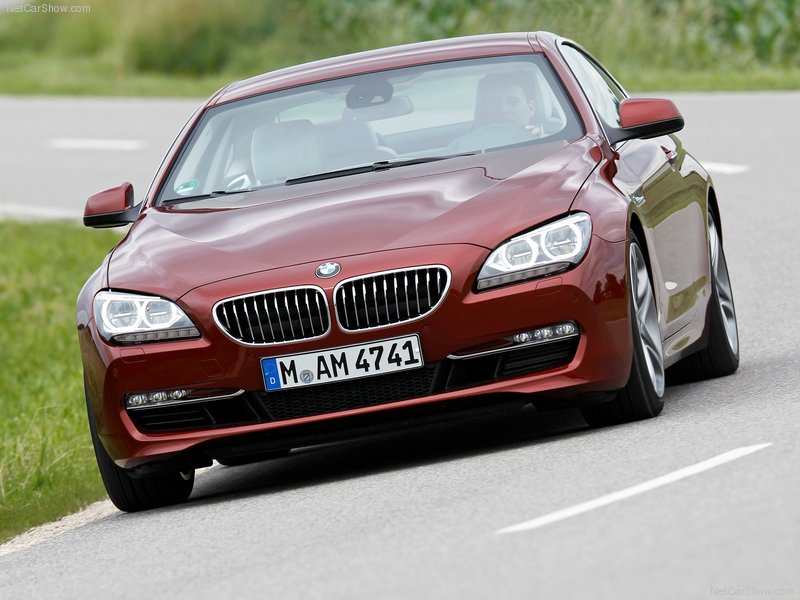 2012 New BMW 6-Series Coupe