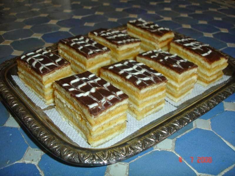 Recette de gâteau a la crème de beurre praliné