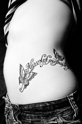 Girl Tattoos On Ribs