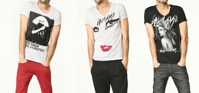 T-Shirts da Lady Gaga na Zara!