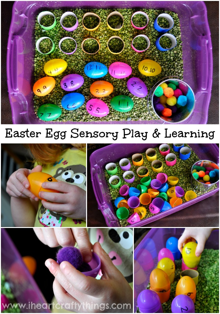 Easter Egg Sensory Play And Learning I Heart Crafty Things