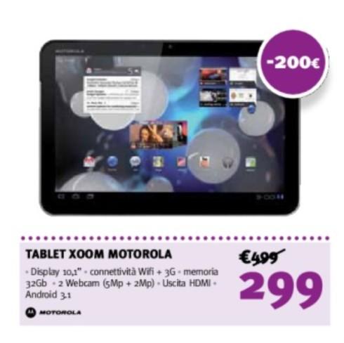 Offerta volantino supermedia di fine maggio inizio giugno su Tablet 3G