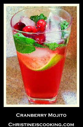Cranberry Mojito (Pitcher Recipe)