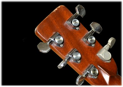 K.Country ギターのヘッド(裏側)