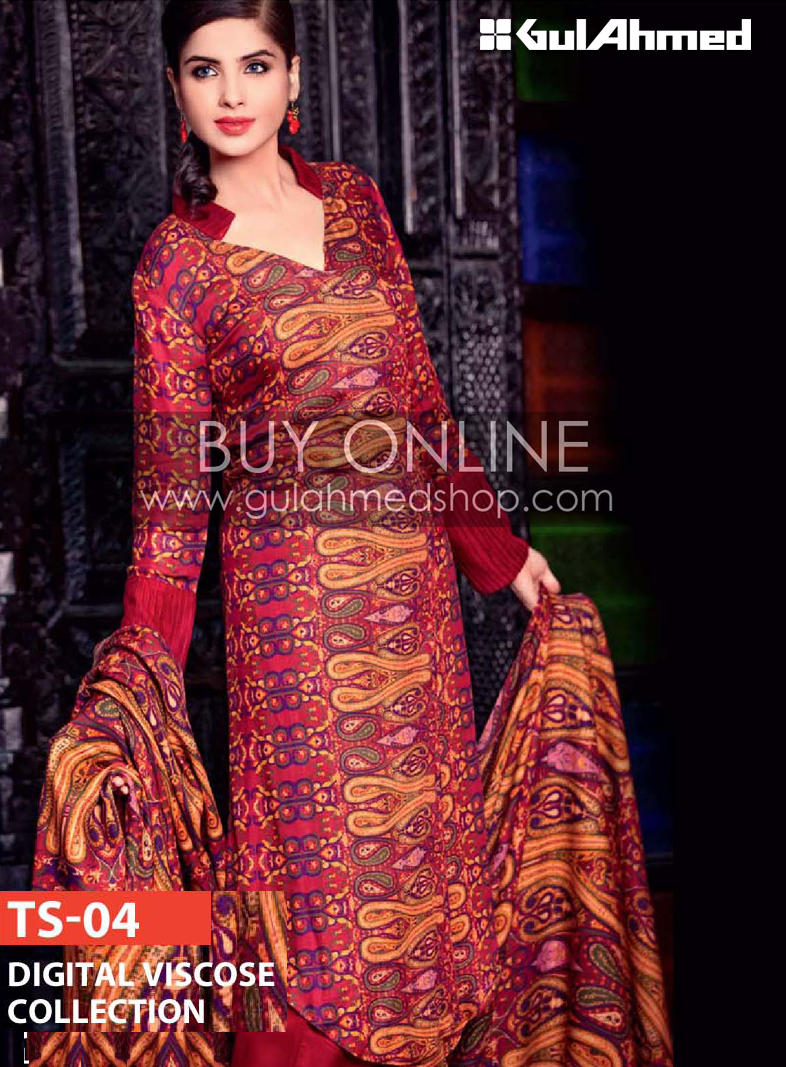 Gul Ahmed Winter Collection 2012-2013 | Gul Ahmed Shop Dresses | Gul