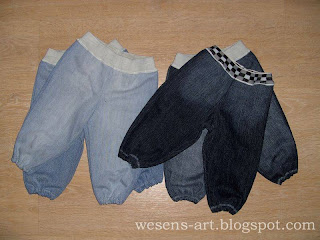 recycled jeans 2    wesens-art.blogspot.com