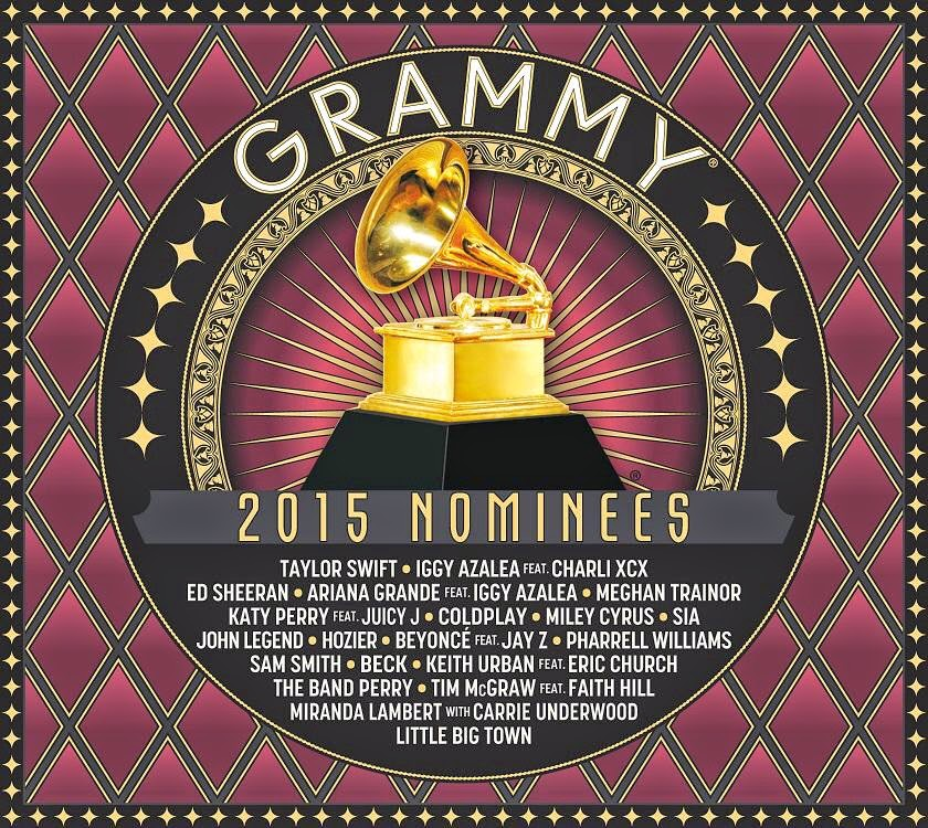 Grammy 2015 Nominees, album cover