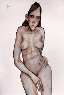 victor otero carbonell desnudo rosa