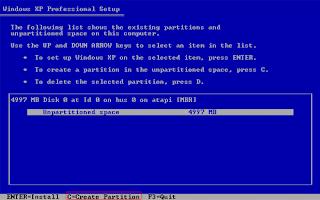 Tips dan trik cara menginstal windows xp mudah dan lengkap