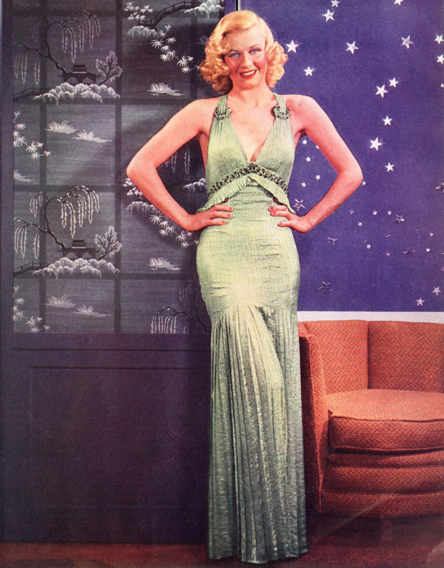 Ginger rogers dresses pictures