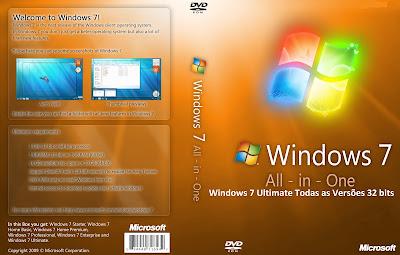 Windows 7 Ultimate DVD Capa