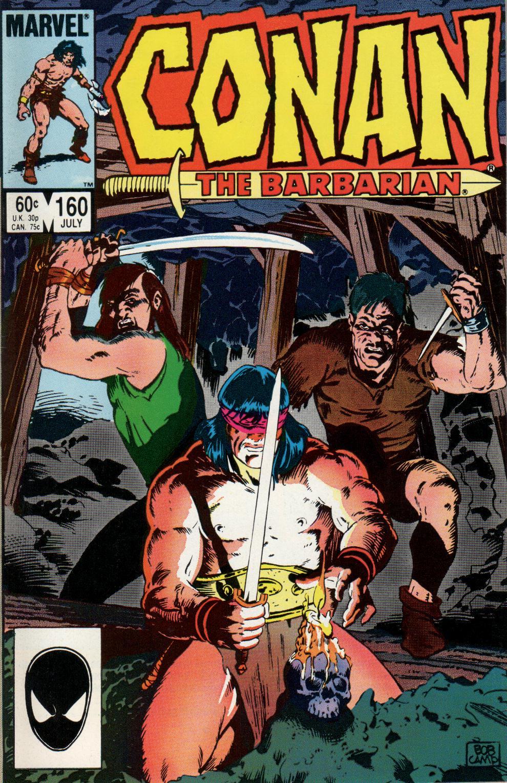 Conan the Barbarian (1970) Issue #160 #172 - English 1