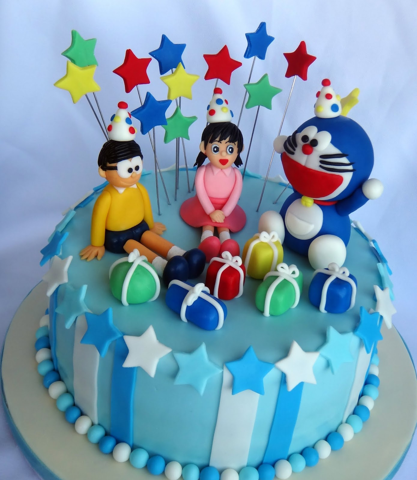 Birthday Cake Images Of Doraemon ~ Doraemon and friends cake pixshark images