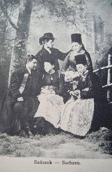 Familie de sasi din zona Sibiu