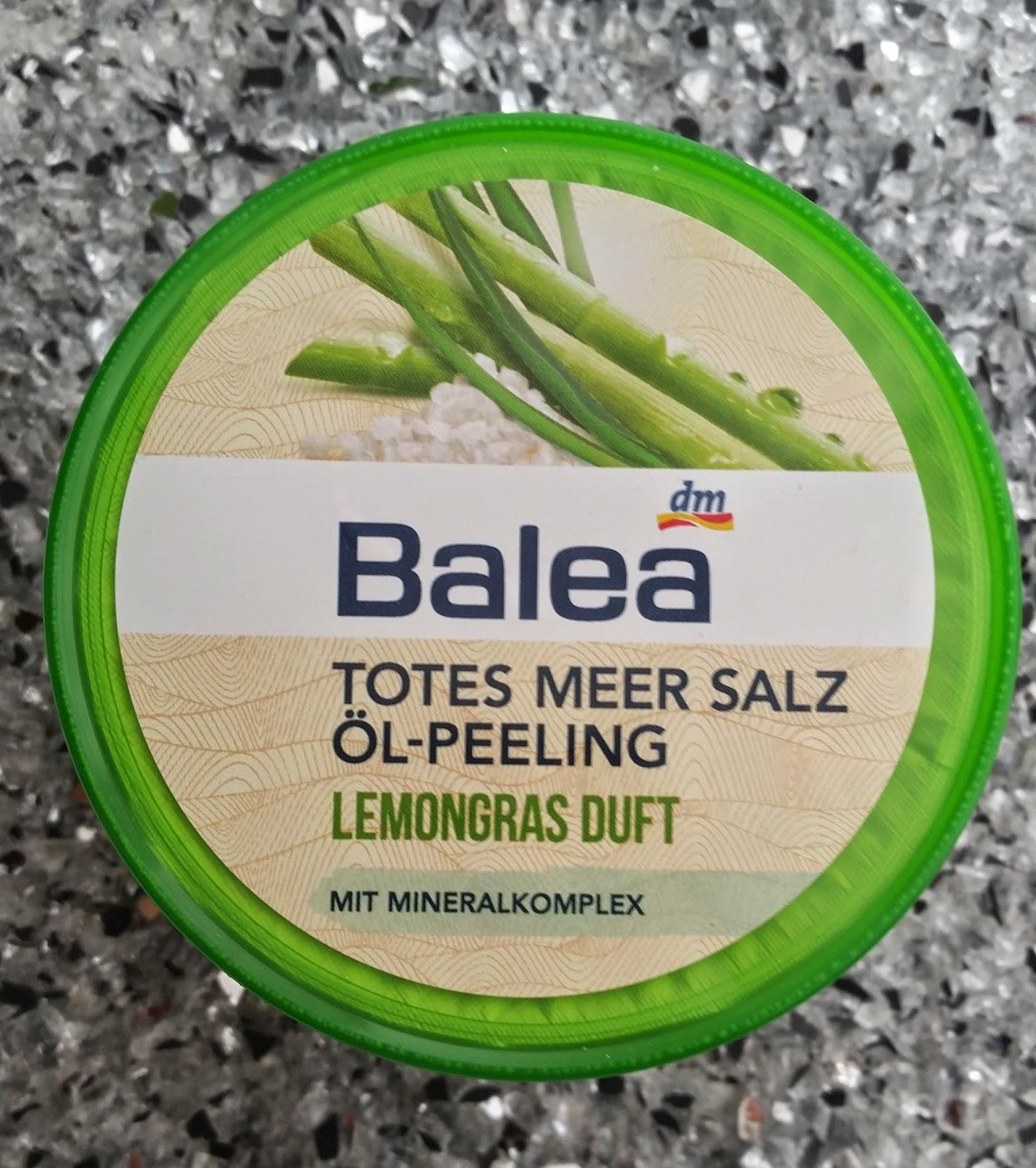 Balea Totes Meer Salz Öl Peeling - www.annitschkasblog.de