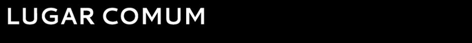 LUGAR COMUM
